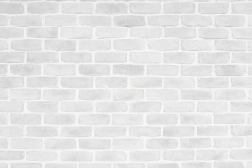White brick texture background