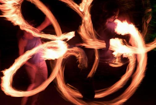 Fire dance 50