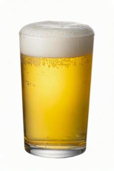 Beer beer glass PSD cropped image with pass