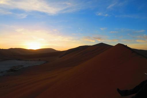 Asahi in the Namib Desert