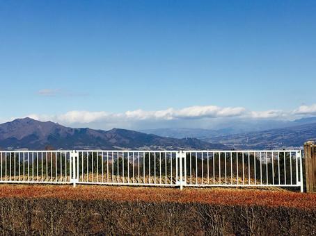 群馬県 渋川総合公園 展望台
