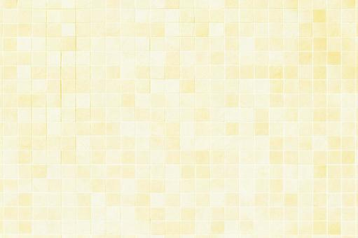 Yellow tile pattern background material