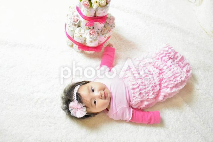 3ヶ月の赤ちゃんの写真