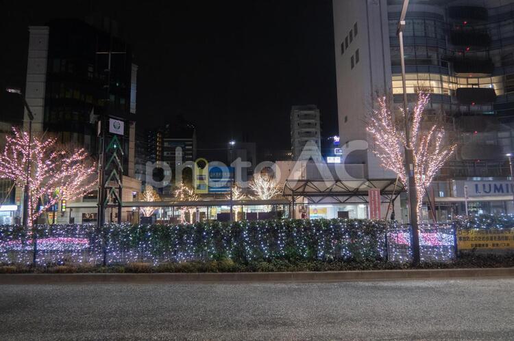 荻窪駅イルミネーションの写真