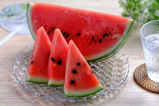 Chilled watermelon