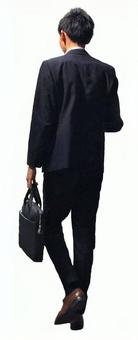 Businessman clipping material