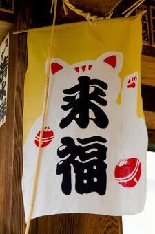 Coming Fuku (lucky cat)