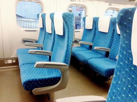 Shinkansen seat 01