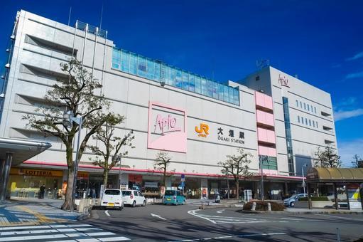 Ogaki Station building