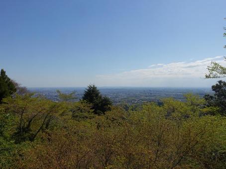 산에서 도쿄를 내려다 _ver2