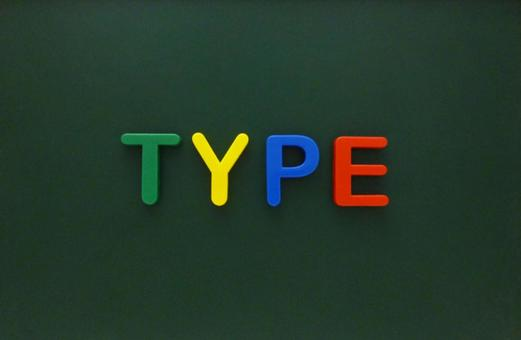 TYPE [Character material]