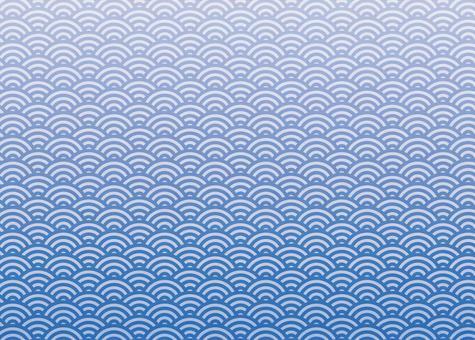 Qinghai wave blue