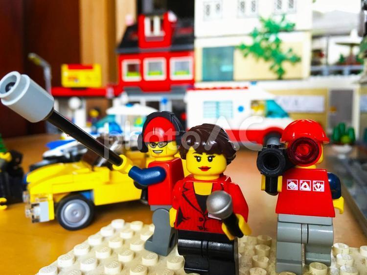 レゴ取材班の写真