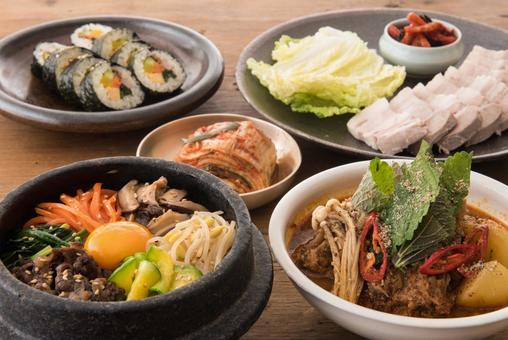 各種韓國料理9