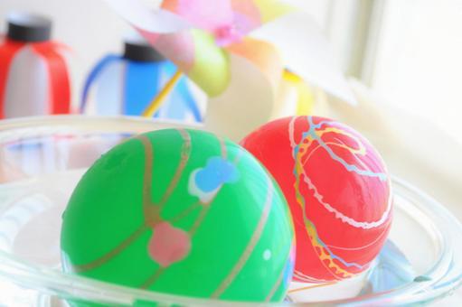 Yo-yo fishing, lanterns and windmills_festivals, summer festivals, fairs, summer images