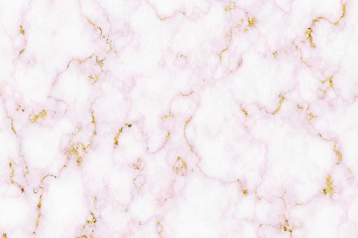 Marble pink with gold leaf background material