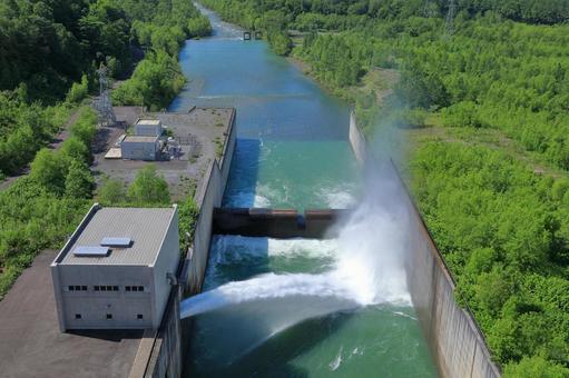 Release of Chubetsu Dam