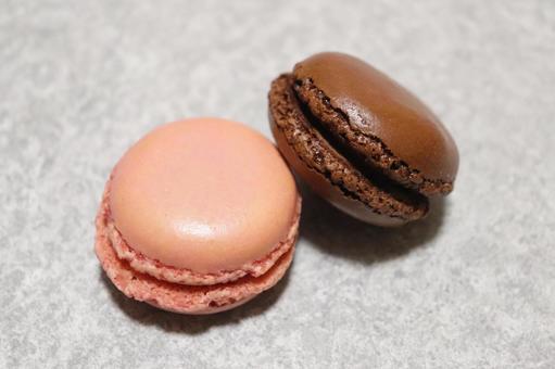 Bite-sized macaroons