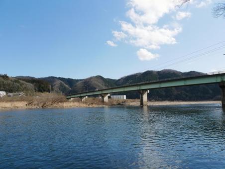 Bridge over Asahikawa