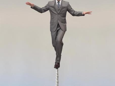 Businessman 【a man who risks a risk】