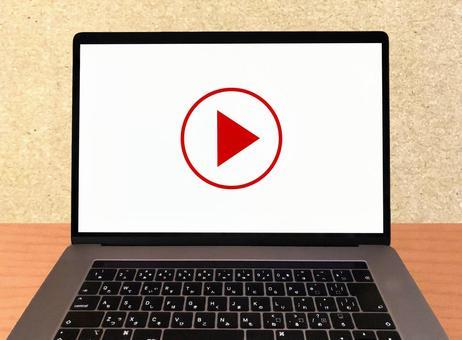 동영상 재생 · 시청 노트북