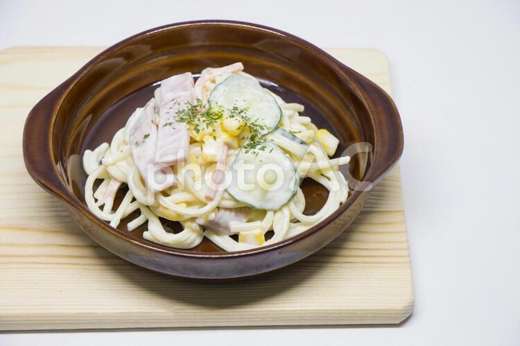 スパゲティーサラダの写真