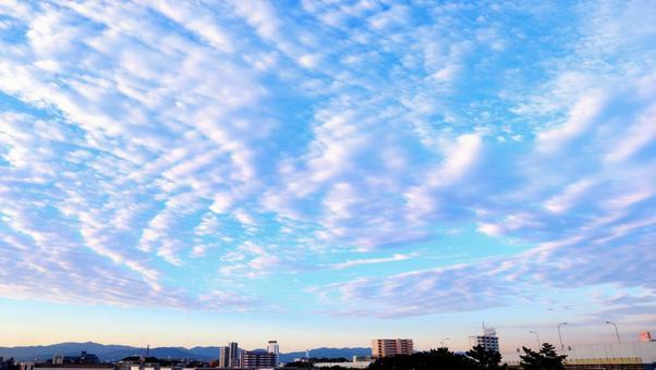 Autumn autumn sky sky blue sky background sky and clouds autumn sky dynamic