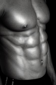 Athlete's abdominal muscle 2