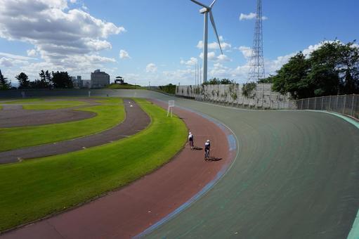 自行车练习自行车赛