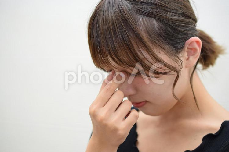 目の疲れの写真