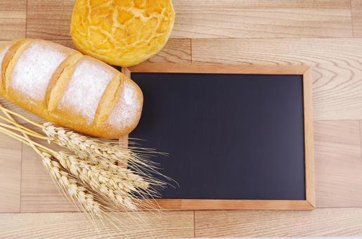 Bread wheat blackboard