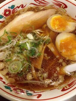 Boiled egg noodles