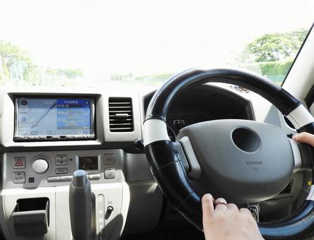 Women driving in driving