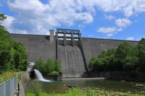 Kanayama dam body