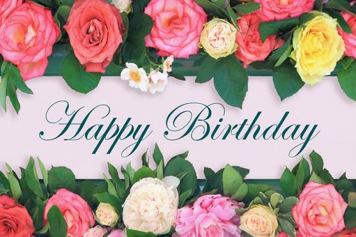 Roses' birthday card 4