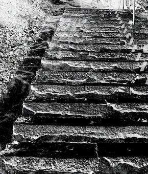 Stone stairs / stone stairs