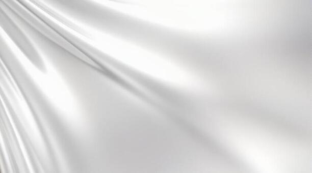 은빛 드레이프 배경의 3D 일러스트