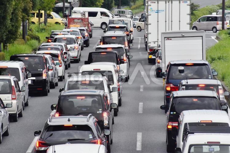 渋滞 横浜の写真