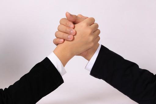 商務手的部分(握手)3