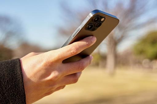 Hands to operate smartphones