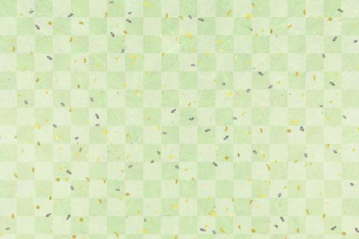 Wash paper material texture green