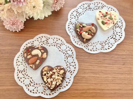 Heart chocolate 19