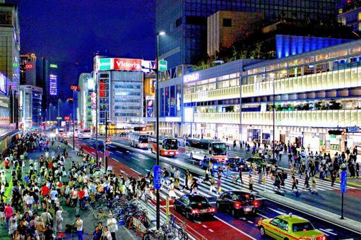 Shinjuku South Exit Night HDR