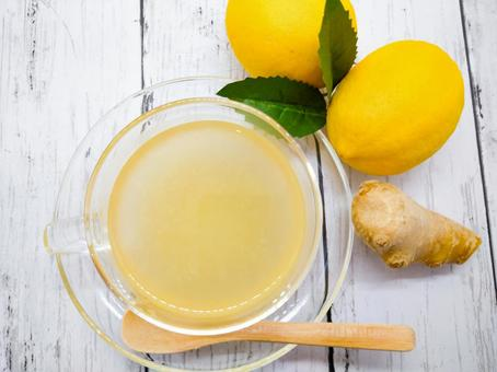 Thick ginger tea
