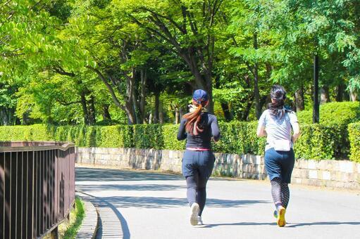 Jogging women 2
