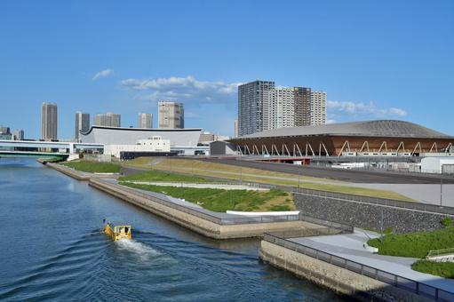 Olympic stadium gymnastics volleyball