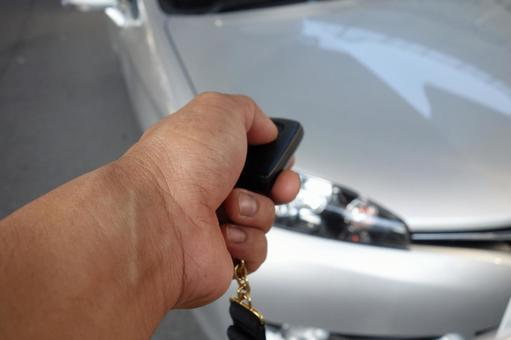 Car and hand 5
