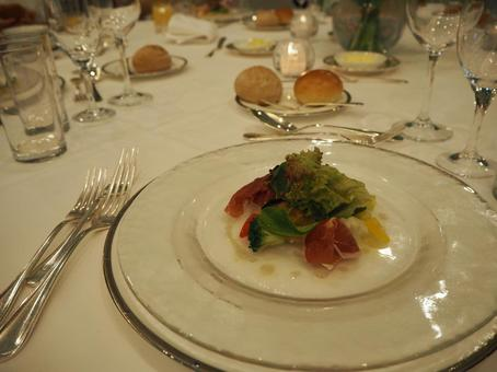 Western food table