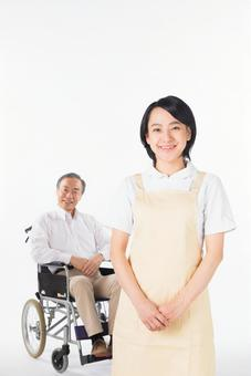 A nurse and a wheelchair male 2
