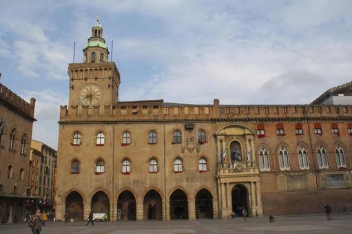 Portico City Hall, Bologna, Italy 14